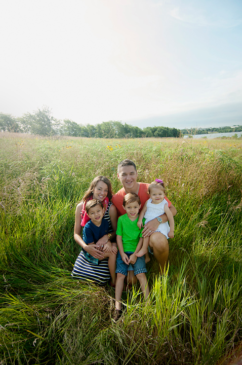 {Family of Five} by Lacy Marie Photography in Omaha NE