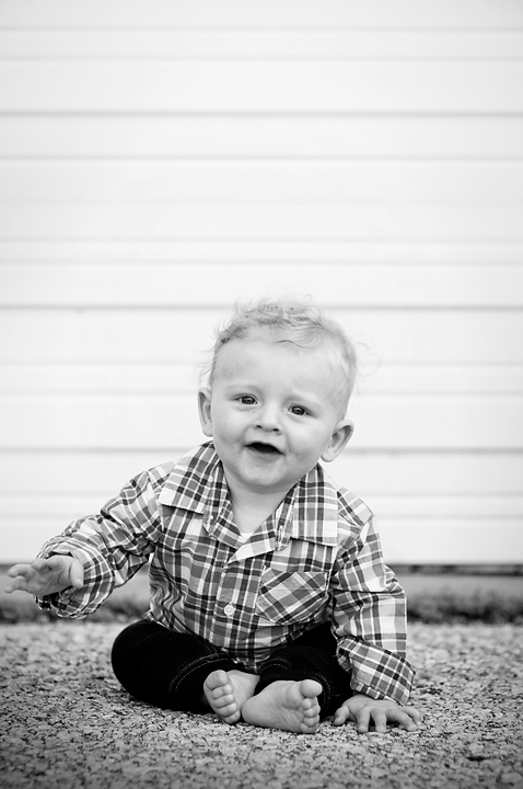 {Baby Boy in Blue} by Lacy Marie Photography in Omaha NE.