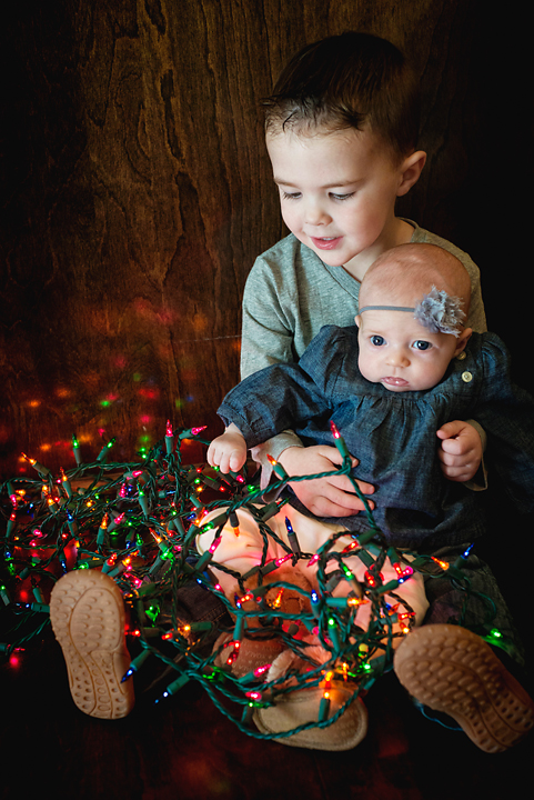 {Lights, Piggies, Books} By Lacy Marie Photography in Omaha NE