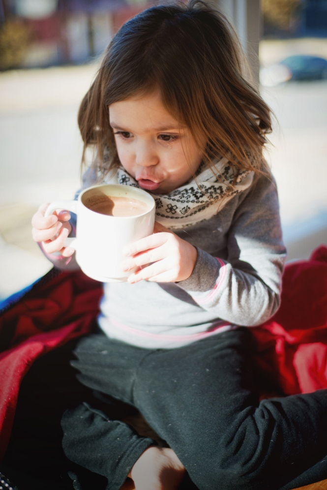 {Hot Chocolate and a cold} by Lacy Marie Photography in Omaha NE