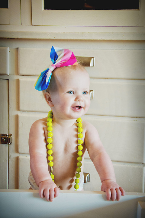 {One Little One Year Old} by Lacy Marie Photography in Omaha NE