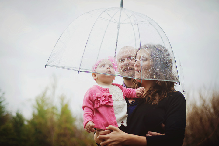 {Rainy Day, Family Session} by Lacy Marie Photography in Omaha NE, 2014