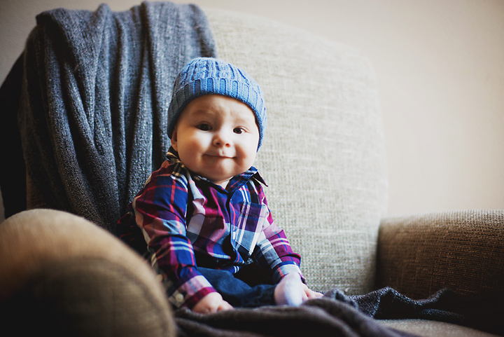 {Little man is 6 months} - Baby Shoot, by Lacy Marie Photography in Omaha NE