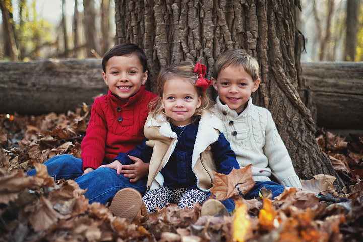 {Family in the Forest} - Family Shoot, by Lacy Marie Photography in Omaha NE.
