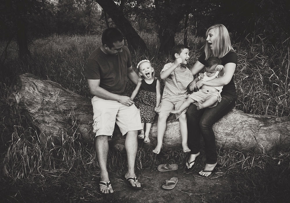 Lindsay, Michael and kids. - {Family Shoot} by Lacy Marie Photography in Omaha NE. www.lacymariephotography.com