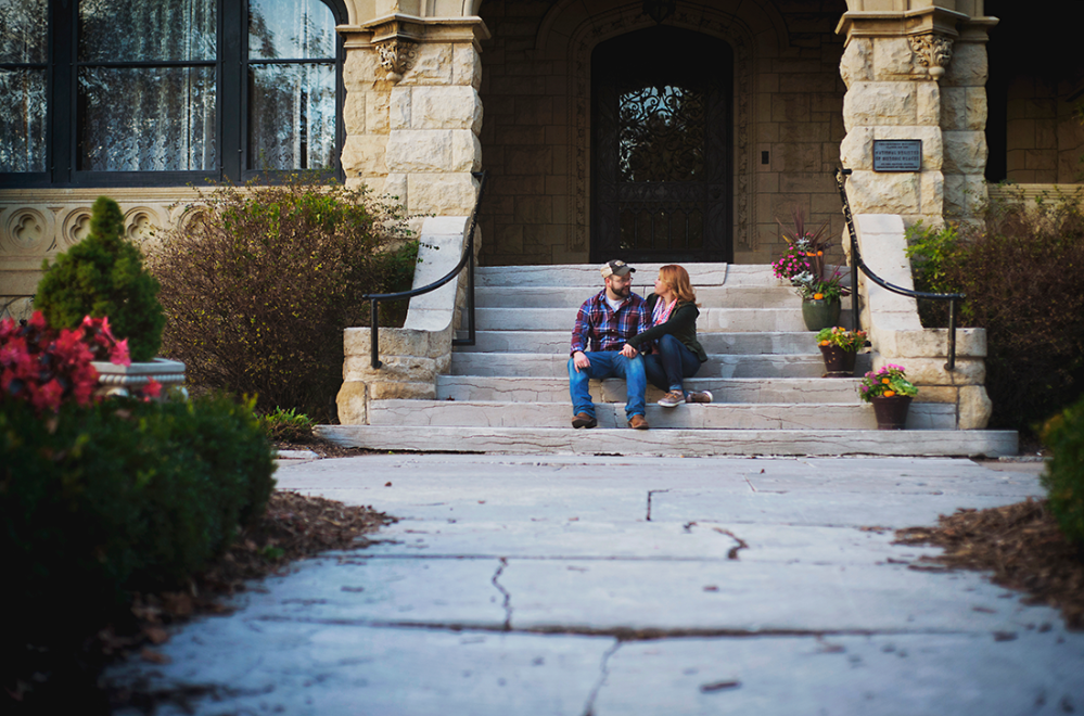 Molly & Ryan {Engagement Shoot} by Lacy Marie Photography in Omaha NE. www.lacymariephotography.com