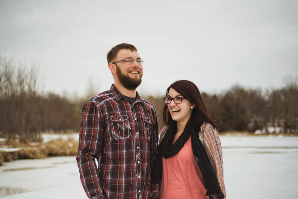 Winter Proposal Shoot by Lacy Marie Photography in Omaha NE ww.lacymariephotography.com