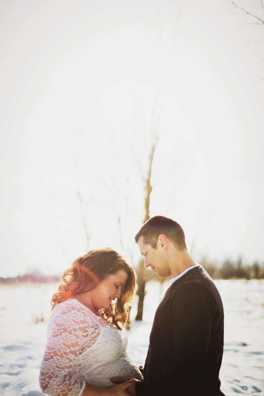 Samantha & Ryan - {Maternity Shoot} by Lacy Marie Photography in Omaha NE. www.lacymariephotography.com
